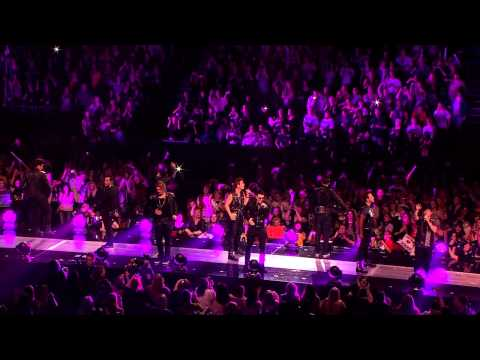 NKOTBSB - Single / The One (Mash-up) Live At O2 Arena 04.29.2012