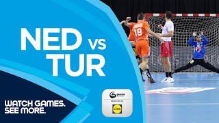 Highlights Netherlands vs Turkey Men s EHF EURO 2022 Qualifiers