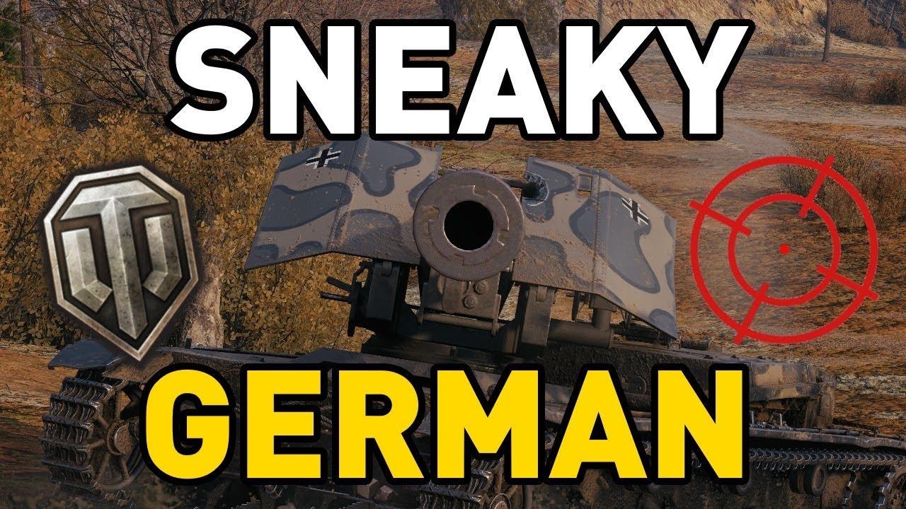 World of Tanks || SNEAKY GERMAN!