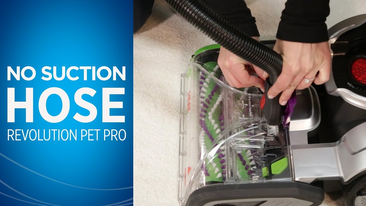 Bissell Proheat Pet Carpet Cleaner Won T Pick Up Water