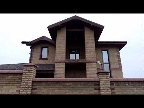 Дом из кирпича ФАГОТ 16 лет облицовке (видео обзор) +7(495)517-56-01