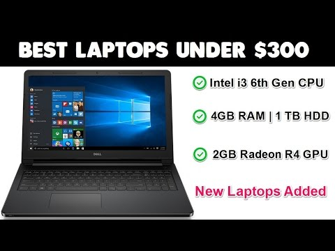 Best Laptops Under $300 [New, i3, 4GB, 1TB HDD]