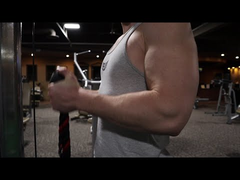 Ben Petersen || Fitness trainer || young face bodybuilder with Huge Arms
