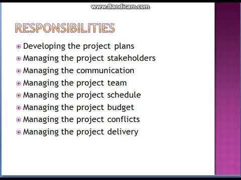 Electrical project manager job description pdf