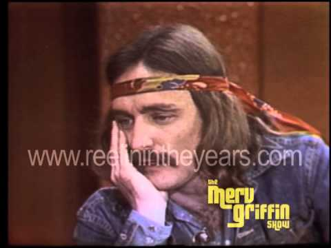 Dennis Hopper  Easy RiderThe Last Movie Merv Griffin  1971