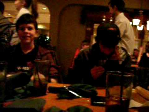 Stoley And The Olive Garden Crew Singing Me The Birthday