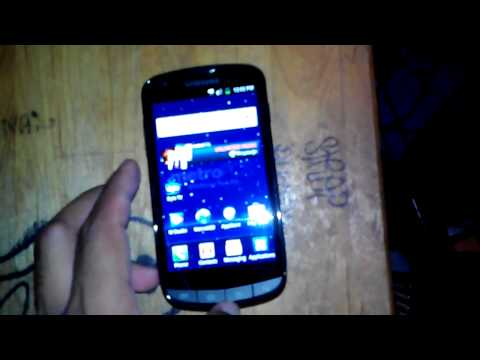 Samsung Galaxy S Lightray 4G LTE First Look (First phone with Live TV in US)