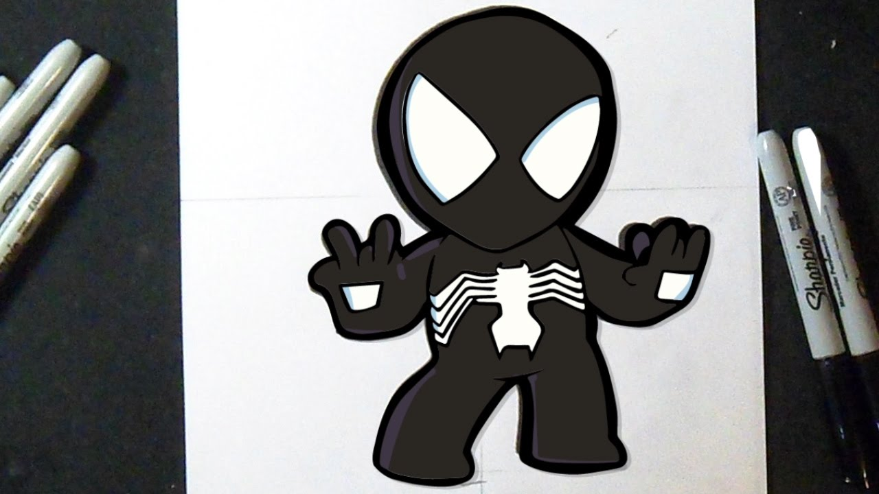 Como Desenhar Homem Aranha Chibi