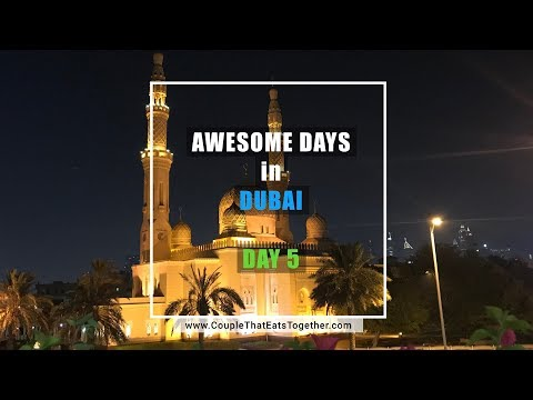 Day 5 | City Tour, Gold Market, Jumeirah Mosque | Awesome Days in Dubai | Vlog#10