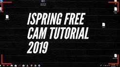 iSpring Free Cam Tutorial 2019 || How to record your Screen for FREE