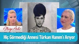 Hiç görmediği annesi Türkan'ı arıyor - Müge Anlı ile Tatlı Sert 17 Haziran 2019