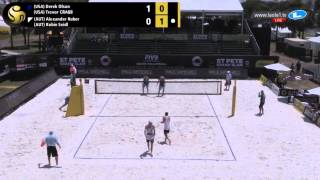 FIVB 2015: St. Pete GS Florida - USA vs AUT