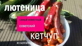 Соус-Кетчуп-Лютеница-быстрый способ справиться с помидорами.