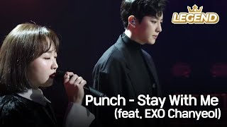 Gambar cover Punch (펀치) - Stay With Me (feat. EXO Chanyeol) [Yu Huiyeol's Sketchbook/2018.03.14]