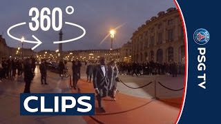 360 Video - EP4 : Gala de la Fondation PARIS SAINT-GERMAIN 2016 - FOOTBALL 360°EXPERIENCE