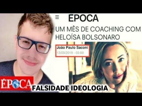 Heloisa Bolsonaro X Revista Época