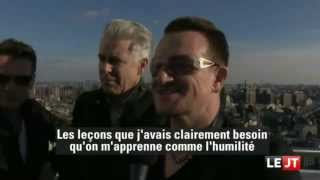 U2News - U2 talking about Mandela in Canal+