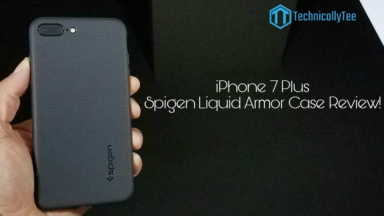 huge selection of 32b42 7f7cf iPhone 7 Plus Spigen Liquid Armor Case Review!