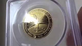 2014 W 10ドル金貨 エレノア・ルーズベルト  PCGS Proof 70 DCAMファーストストライク