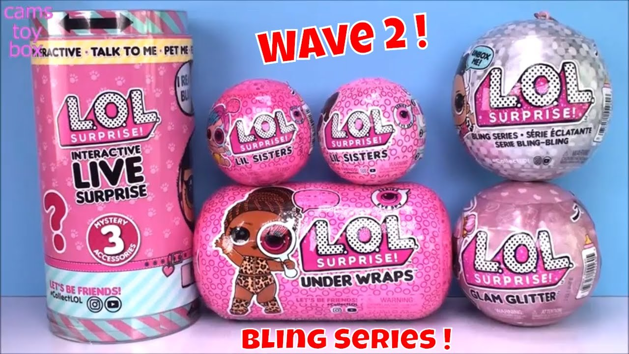 Surprise Doll BALL Bling Series 2 LOL Authentic All New Outfits Girls Toy L.O.L