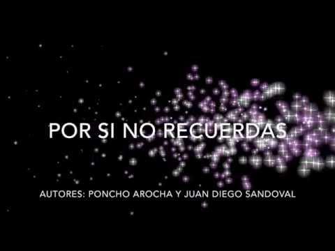 BANDA LOS SEBASTIANES - Por si no recuerdas LETRA OFICIAL
