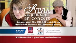 Join Country Hitmaker Sylvia in Concert - Saturday, March 29th - Hershey Area Playhouse