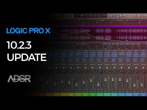 Logic Pro X 10.2.3 Update – First Look