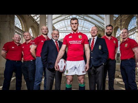 Behind The Scenes at the 2017 Squad Announcement | British & Irish Lions