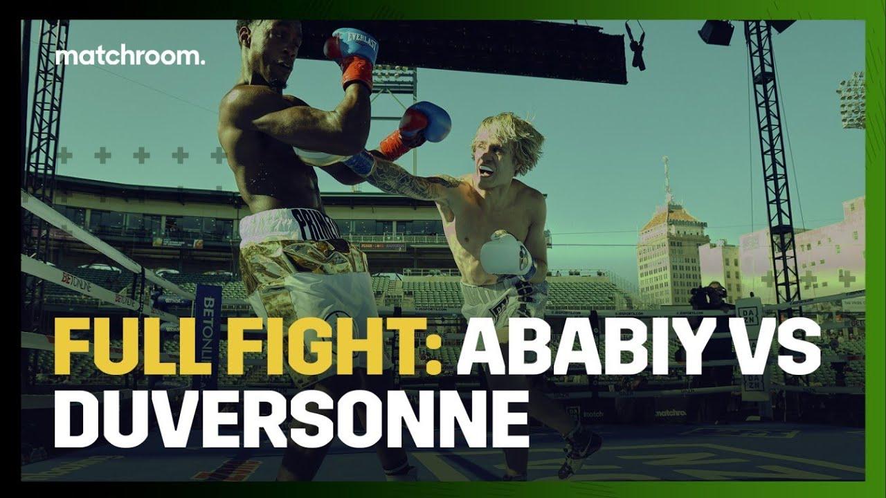 Download FULL FIGHT: Nikita Ababiy vs Sanny Duversonne