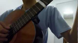 Nhớ Mùa Thu Hà Nội - TCS on classical guitar