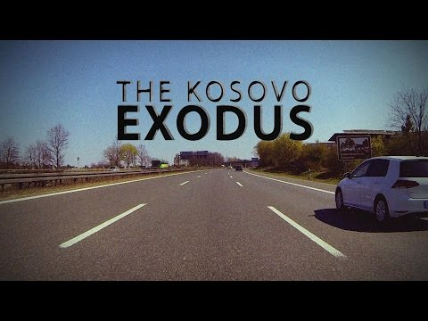 The Kosovo Exodus: Kosovo migrants look for a better life in Europe.