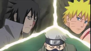 Team 7 vs Sasuke AMV ( Linkin park in the end )