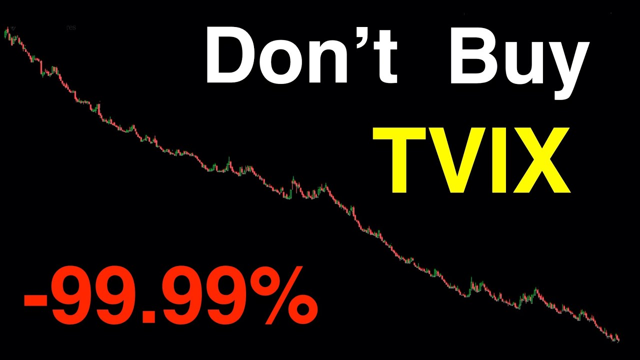 Video #114)  Don't buy TVIX  -  It's highly leveraged and risky