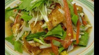 Thai Food-fried Eggs Salad