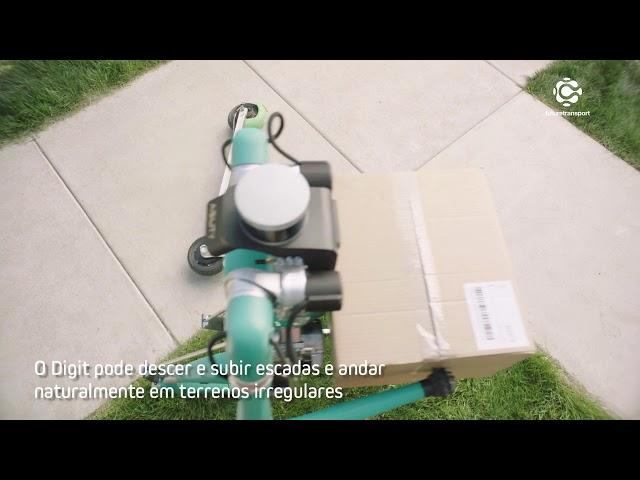 Ford testa robô para entregas
