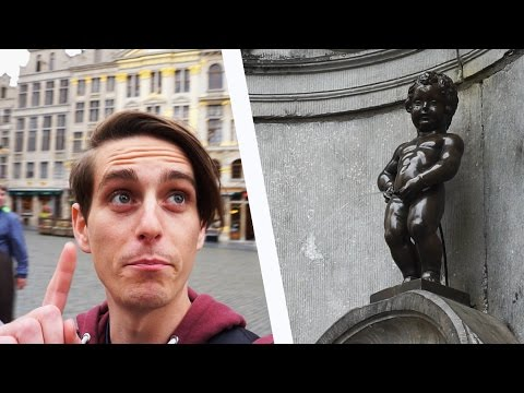 THE MOST FAMOUS STATUE IN BRUSSELS? (Brussels, Belgium)