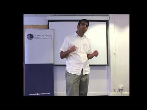 Junaid Mir science flash talk: a real-life viewing experience