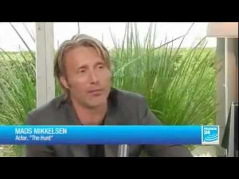Mads Mikkelsen Interviews at Cannes for The Hunt