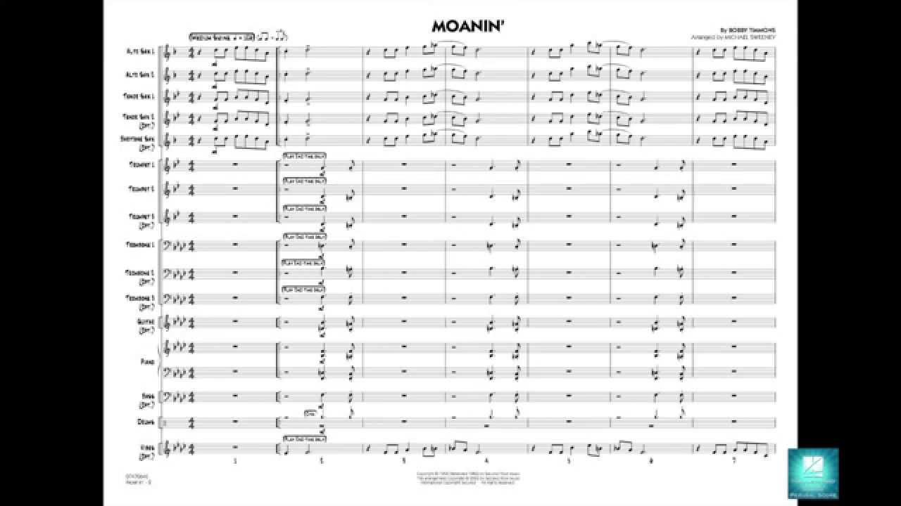Moanin' Sheet Music By Bobby Timmons - Sheet Music Plus