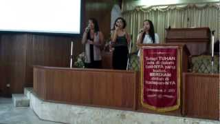 """God van Trouw/Faithful One"" opwekking 542 acapella - SDA Church Benhil (Jakarta, Indonesia)"