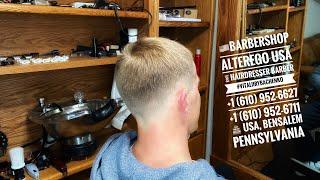 BarbershopAlteregoUSA VitaliiRybachenko Hairdresser Barber Стрижка Haircut USA Pennsylvania