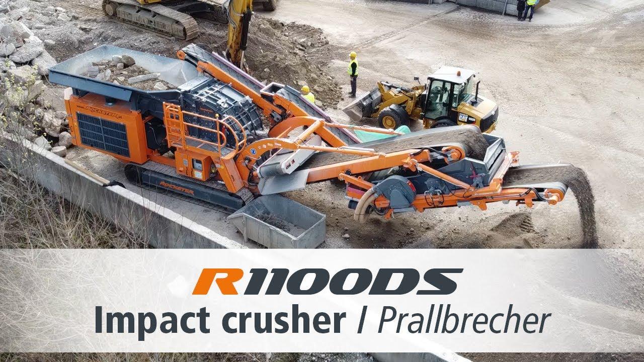 Rockster R1100DS Impact Crusher / Prallbrecher