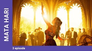mATA HARI. Episode 3. Russian TV Series. StarMedia. Drama. English dubbing