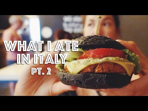WHAT I ATE IN ITALY (VEGAN) PT. 2