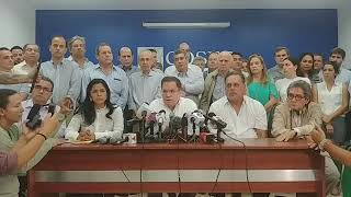 CONFERENCIA COMPLETA: COSEP se pronuncia ante situación por protestas tras reformas al INSS