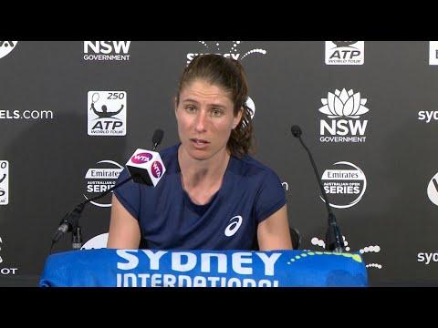 Johanna Konta Press Conference (R1) | Sydney International 2018