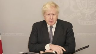 video: Politics latest news: Lockdown tiers to last until the end of March - watch Boris Johnson live