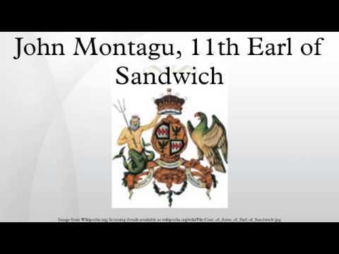 John Montagu, 11th Earl of Sandwich