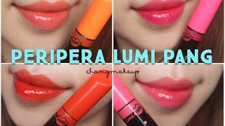 [SWATCH + REVIEW] PERIPERA LUMI PANG