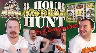 Mega Joker - JACKPOT HUNT - 8 hours in 22 minutes